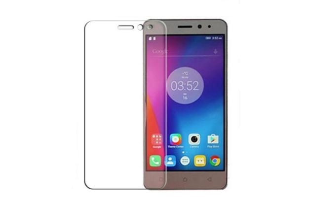 """Фирменное защитное закалённое противоударное стекло премиум-класса из качественного японского материала с олеофобным покрытием для телефона Lenovo K6/ K6 Power 5.0"""""""