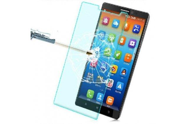 """Фирменное защитное закалённое противоударное стекло премиум-класса из качественного японского материала с олеофобным покрытием для телефона Lenovo Vibe Z2 Pro K920 6.0"""" дюймов"""