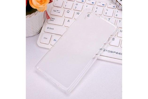 Фирменная ультра-тонкая полимерная из мягкого качественного силикона задняя панель-чехол-накладка для Lenovo P70 белая