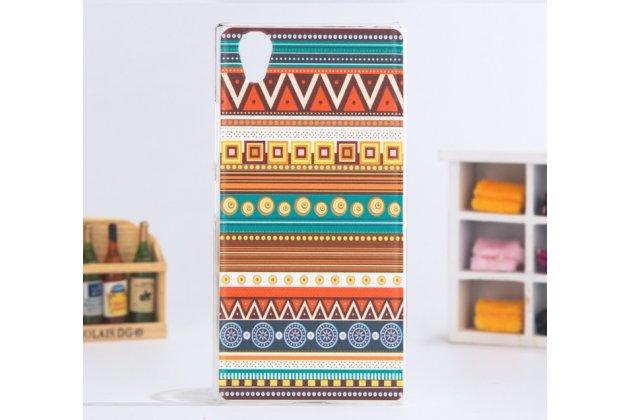 Фирменная роскошная задняя панель-чехол-накладка с безумно красивым расписным эклектичным узором на Lenovo P70