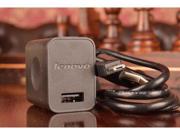 Фирменное оригинальное зарядное устройство от сети для телефона Lenovo P70 + гарантия..