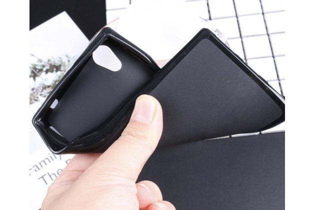 Фирменная ультра-тонкая полимерная из мягкого качественного силикона задняя панель-чехол-накладка для Lenovo P70 черная
