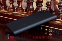 Фирменная задняя панель-крышка-накладка из тончайшего и прочного пластика для Lenovo P70 черная