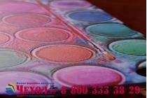 """Фирменная необычная уникальная пластиковая задняя панель-чехол-накладка для Lenovo Sisley S90 """"тематика краски"""""""