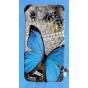 Фирменная пластиковая задняя панель-чехол-накладка с безумно красивым расписным рисунком Бабочки для Lenovo P7..