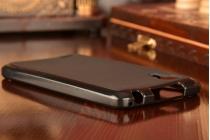 Фирменная ультра-тонкая полимерная из мягкого качественного силикона задняя панель-чехол-накладка для Lenovo P780 черная