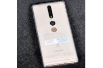 Фирменная ультра-тонкая полимерная из мягкого качественного силикона задняя панель-чехол-накладка для Lenovo Phab 2 Plus PB2-670M 6.4 белая
