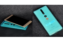 Фирменная ультра-тонкая полимерная из мягкого качественного силикона задняя панель-чехол-накладка для Lenovo Phab 2 Plus PB2-670M 6.4 голубая