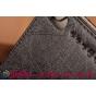 "Фирменный чехол-футляр-книжка для Lenovo Phab Plus PB1-770N/770M 6.8"" ZA070019RU черный кожаный"