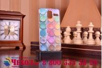 """Фирменная необычная уникальная пластиковая задняя панель-чехол-накладка для Lenovo S580 """"тематика краски"""""""