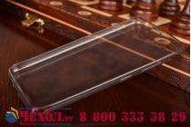 Фирменная ультра-тонкая полимерная из мягкого качественного силикона задняя панель-чехол-накладка для Lenovo S60 черная