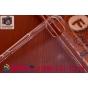 Фирменная ультра-тонкая пластиковая задняя панель-чехол-накладка для Lenovo S60 прозрачная..