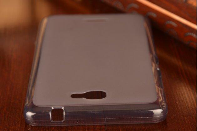 Фирменная ультра-тонкая силиконовая задняя панель-чехол-накладка для Lenovo S810T/ S810 черная
