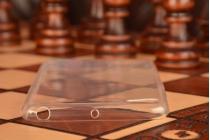 Фирменная ультра-тонкая полимерная из мягкого качественного силикона задняя панель-чехол-накладка для Lenovo Sisley S90 белая