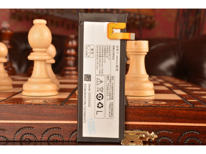 Фирменная аккумуляторная батарея BL215 2070mAh на телефон Lenovo S960 Vibe X + гарантия..