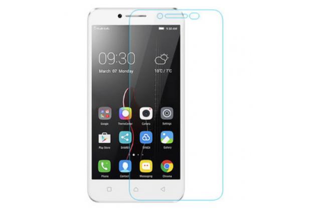 "Фирменная оригинальная защитная пленка для телефона Lenovo Vibe C (A2020 / A2020a40 Dual Sim ) 5.0""  глянцевая"