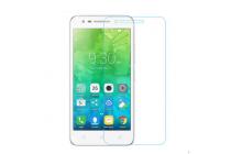 """Фирменное защитное закалённое противоударное стекло премиум-класса из качественного японского материала с олеофобным покрытием для телефона Lenovo Vibe C2 5.0"""""""