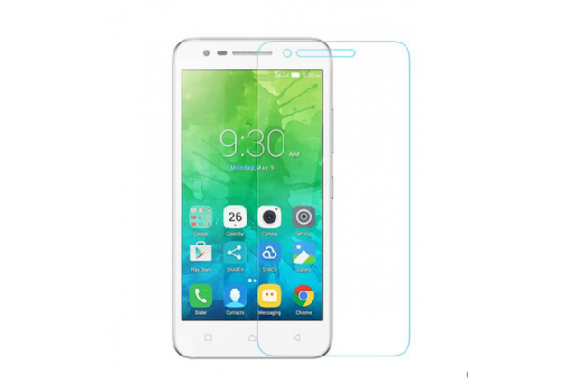 """Фирменное защитное закалённое противоударное стекло премиум-класса из качественного японского материала с олеофобным покрытием для телефона Lenovo Vibe C2 5.0"""" / VIBE C2 Power/ K10 ( K10A40/ PA450118RU)"""