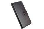 Фирменный чехол-книжка для Lenovo Vibe C2/ VIBE C2 Power/ K10 ( K10A40/ PA450118RU) из качественной импортной кожи с подставкой застёжкой и визитницей черный