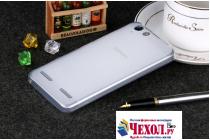 """Фирменная ультра-тонкая полимерная из мягкого качественного силикона задняя панель-чехол-накладка для Lenovo Vibe K5/ Vibe K5 Plus (A6020 / A6020a40 / A6020a46) 5.0"""" белая"""