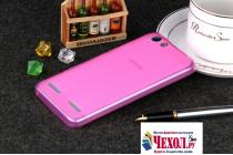 """Фирменная ультра-тонкая полимерная из мягкого качественного силикона задняя панель-чехол-накладка для for Lenovo Vibe K5/ Vibe K5 Plus (A6020 / A6020a40 / A6020a46) 5.0"""" розовая"""