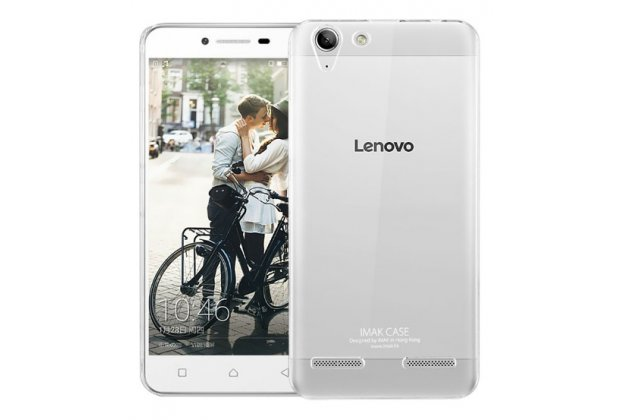 """Фирменная задняя панель-крышка-накладка из тончайшего и прочного пластика для Lenovo Vibe K5/ Vibe K5 Plus (A6020 / A6020a40 / A6020a46) 5.0"""" прозрачная"""