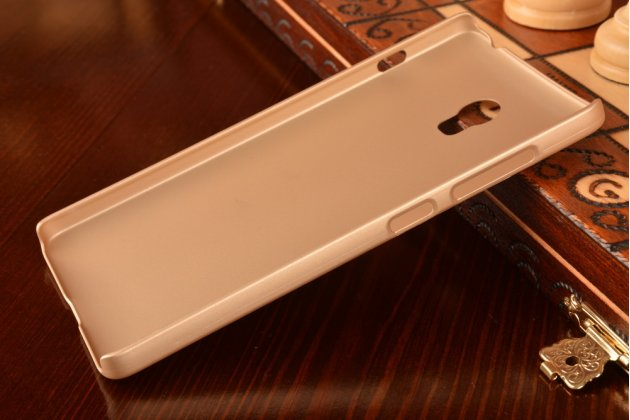 """Фирменная задняя панель-крышка-накладка из тончайшего и прочного пластика для Lenovo Vibe P1 / P1 Pro (C72) 5.5"""" золотая"""