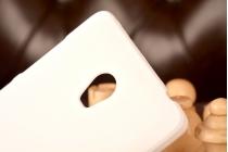 """Фирменная задняя панель-крышка-накладка из тончайшего и прочного пластика для Lenovo Vibe P1 / P1 Pro (C72) 5.5"""" белая"""