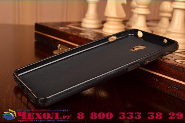 """Фирменная ультра-тонкая полимерная из мягкого качественного силикона задняя панель-чехол-накладка для Lenovo Vibe P1 / P1 Pro (C72) 5.5"""" черная"""