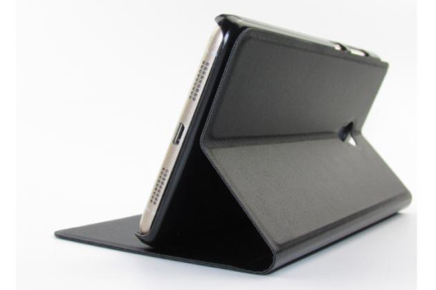 """Фирменный чехол-книжка для Lenovo Vibe P1m 5.0"""" / P1ma40 / PA1G0001RU / 002RU черный с окошком для входящих вызовов водоотталкивающий"""