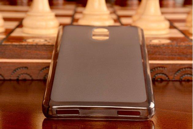 """Фирменная ультра-тонкая полимерная из мягкого качественного силикона задняя панель-чехол-накладка для Lenovo Vibe P1m 5.0"""" / P1ma40 / PA1G0001RU / 002RU черная"""