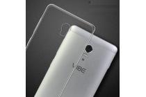 Фирменная ультра-тонкая пластиковая задняя панель-чехол-накладка для Lenovo Vibe P2 прозрачная