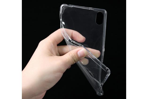 Фирменная ультра-тонкая полимерная из мягкого качественного силикона задняя панель-чехол-накладка для Lenovo Vibe P2 прозрачная
