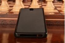 Фирменная ультра-тонкая полимерная из мягкого качественного силикона задняя панель-чехол-накладка для Lenovo Vibe S1/S1 Lite черая