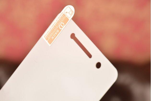 Фирменное защитное закалённое противоударное стекло премиум-класса из качественного японского материала с олеофобным покрытием для телефона Lenovo Vibe S1