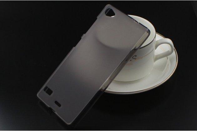 Фирменная ультра-тонкая полимерная из мягкого качественного силикона задняя панель-чехол-накладка для Lenovo Vibe X2 Pro черная