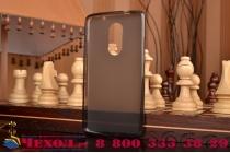 """Фирменная ультра-тонкая полимерная из мягкого качественного силикона задняя панель-чехол-накладка для Lenovo Vibe Х3/ X3c50/ X3c70 5.5"""" черная"""