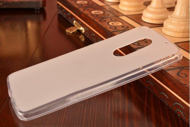 """Фирменная ультра-тонкая полимерная из мягкого качественного силикона задняя панель-чехол-накладка для Lenovo Vibe Х3/ X3c50/ X3c70 5.5"""" белая"""