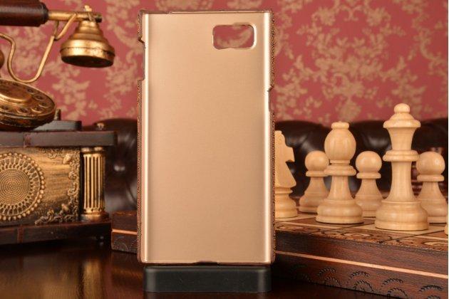 """Фирменная элегантная экзотическая задняя панель-крышка с фактурной отделкой натуральной кожи крокодила кофейного цвета для Lenovo Vibe Z2 Pro K920 6.0"""" . Только в нашем магазине. Количество ограничено."""