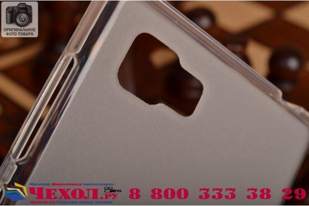 """Фирменная ультра-тонкая полимерная из мягкого качественного силикона задняя панель-чехол-накладка для  Lenovo Vibe Z2 mini K920 5.5"""" дюймов белая"""
