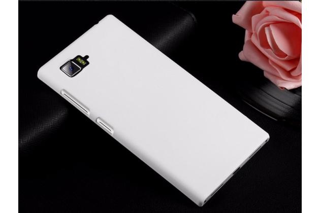 """Фирменная задняя панель-крышка-накладка из тончайшего и прочного пластика для Lenovo Vibe Z2 mini K920 5.5"""" дюймов  белая"""