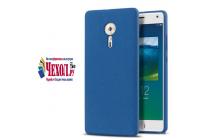 """Фирменная задняя панель-крышка-накладка из тончайшего и прочного пластика для Lenovo ZUK Z2 Pro 5.2"""" синяя"""
