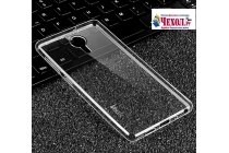 Фирменная ультра-тонкая полимерная из мягкого качественного силикона задняя панель-чехол-накладка для Lenovo Zuk Edge прозрачная