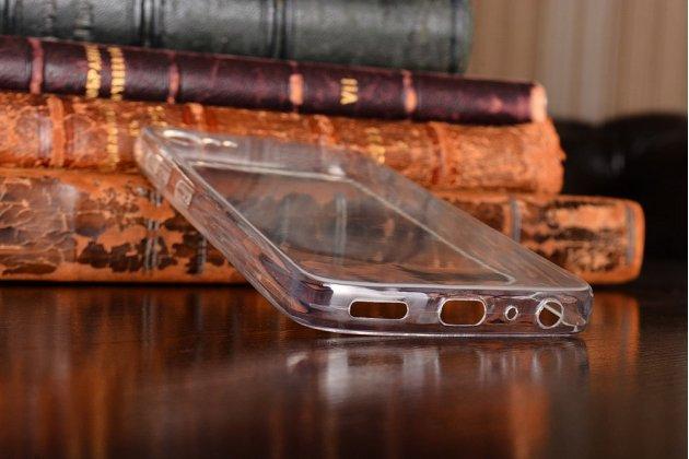 Фирменная ультра-тонкая полимерная из мягкого качественного силикона задняя панель-чехол-накладка для Lenovo Zuk Z2/ZUK Z2 Rio Edition 5.0 прозрачная