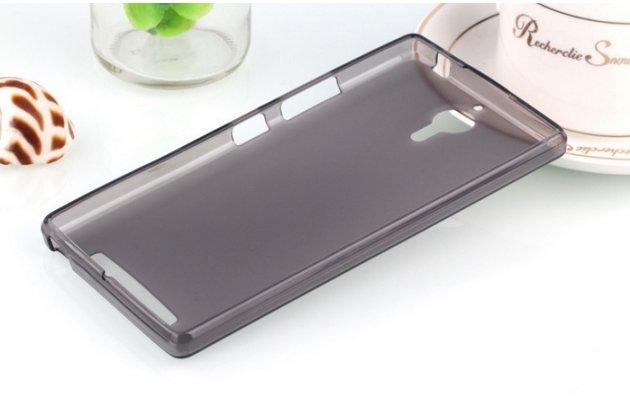 Фирменная ультра-тонкая полимерная из мягкого качественного силикона задняя панель-чехол-накладка для Lenovo K80/P90/P90 Pro черная