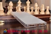 """Фирменная ультра-тонкая силиконовая задняя панель-чехол-накладка для Lenovo Phab 2 PB2-650M 6.4"""" белая"""