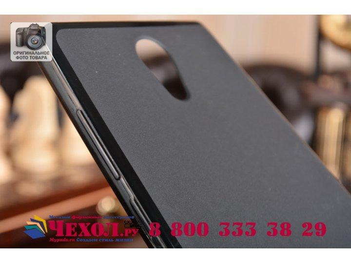 Фирменная ультра-тонкая силиконовая задняя панель-чехол-накладка для Lenovo Phab 2 PB2-650M 6.4