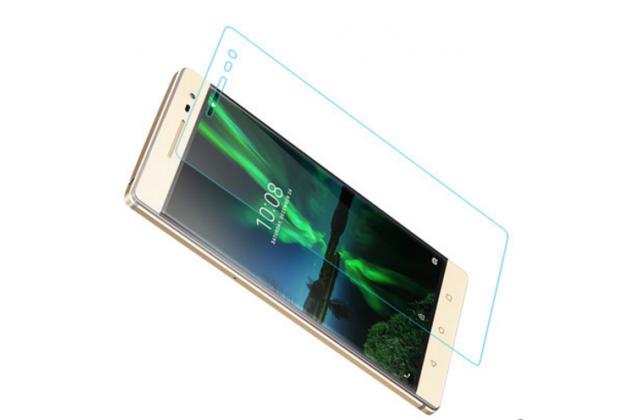 """Фирменное защитное закалённое противоударное стекло премиум-класса из качественного японского материала с олеофобным покрытием для телефона Lenovo Phab 2 Pro PB2-690N 6.4"""""""