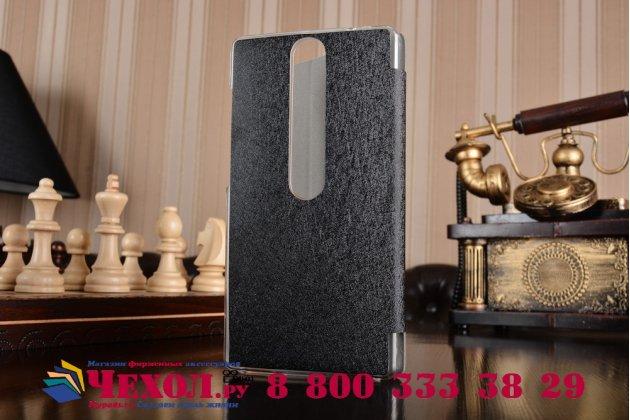 """Фирменный умный тонкий легкий чехол для Lenovo Phab 2 Pro PB2-690N 6.4"""" """"Il Sottile"""" черный пластиковый"""