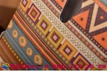 """Фирменный уникальный необычный чехол-книжка для Lenovo Zuk Z1   """"тематика Эклектические Узоры"""""""